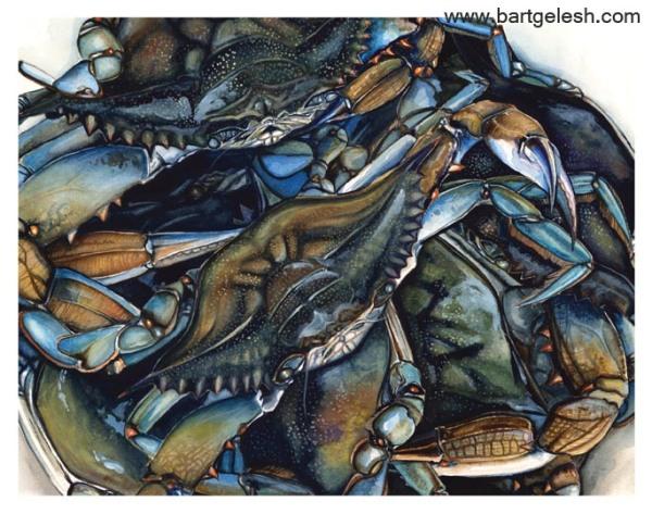 crabs 11x14